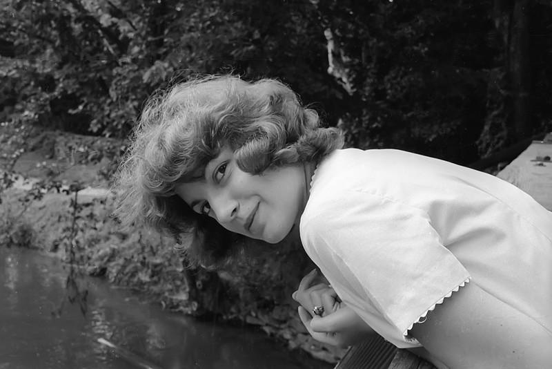 Nancy in Pixie Mode - Spring 1961