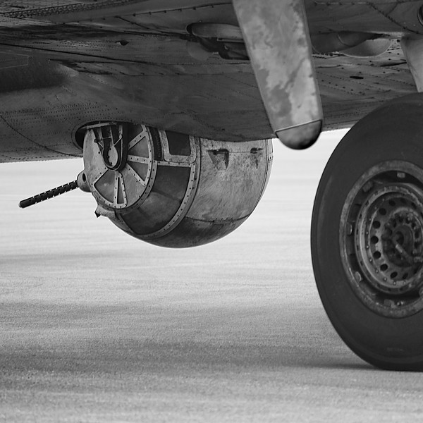 Belly Turret of the B-17 Memphis Belle