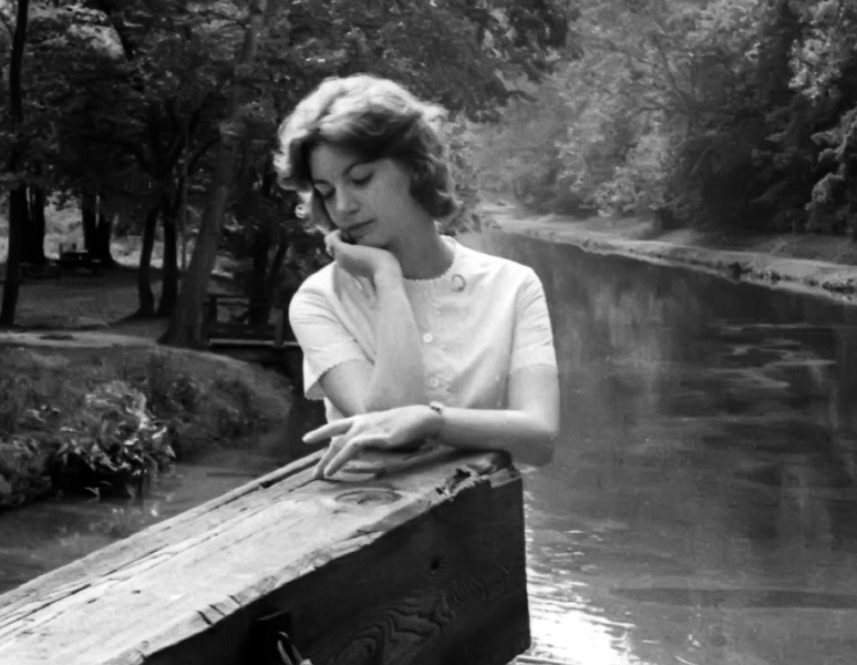 Nancy at the C&O Canal  - Spring 1961
