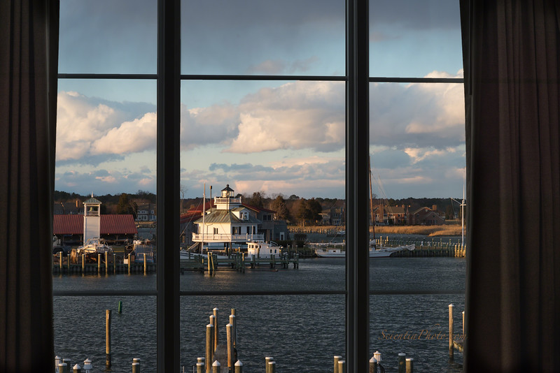 Chesapeake Bay Maritime Museum from the Harbour Inn