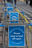 Walmart Carts Carrying Messages