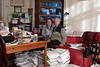 Akademician Kiril Kondratyev & Svetlana in Their St Petersburg Apartment<br /> 2005