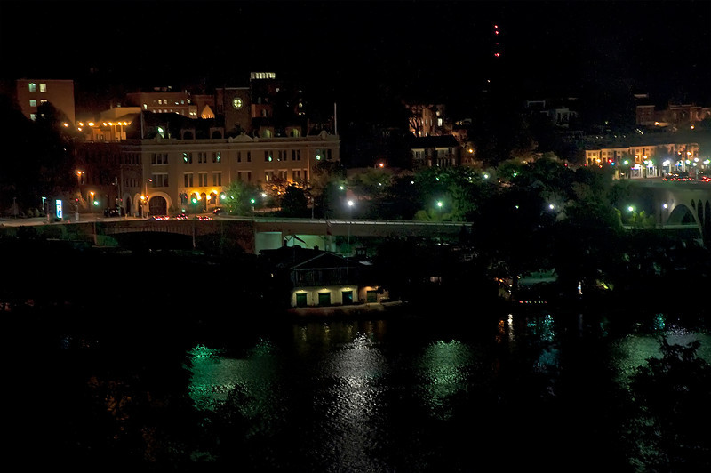 The Potomac River Boat Club & Georgetown from Arlington, VA<br /> W-L 50th Class Reunion<br /> October 2009
