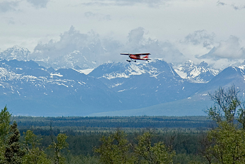 View from Talketna, AK<br /> 2006