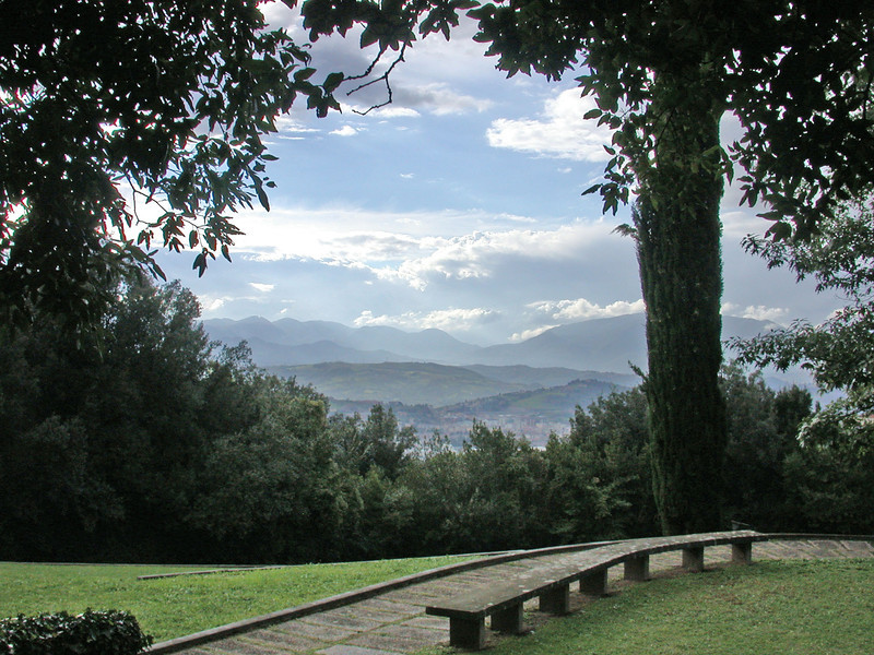 View from a Papal Palace at Benevento, Italy<br /> 2005