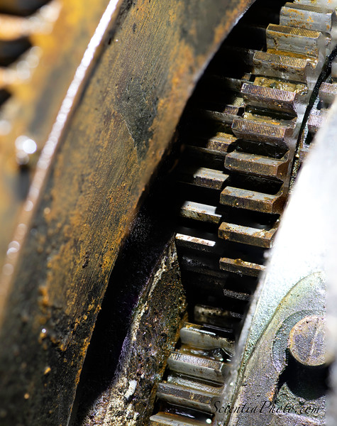 Planetary Gears on a Model-T Ford Transmission