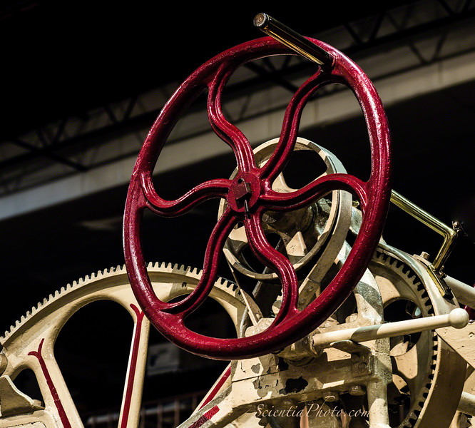 Gears & Wheels from a 65-Foot Aerial Ladder ca 1908