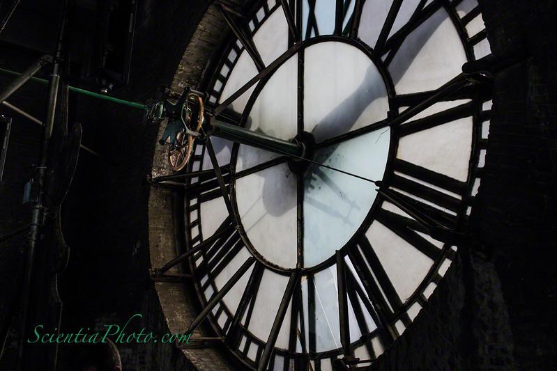 North Facing 24-foot Clock of Baltimore's  Bromo Seltzer Tower