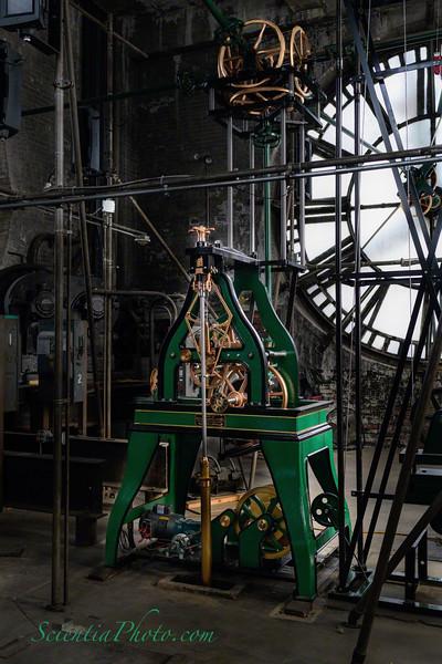 Interior of Baltimore's Bromo Seltzer  Tower Clock Room