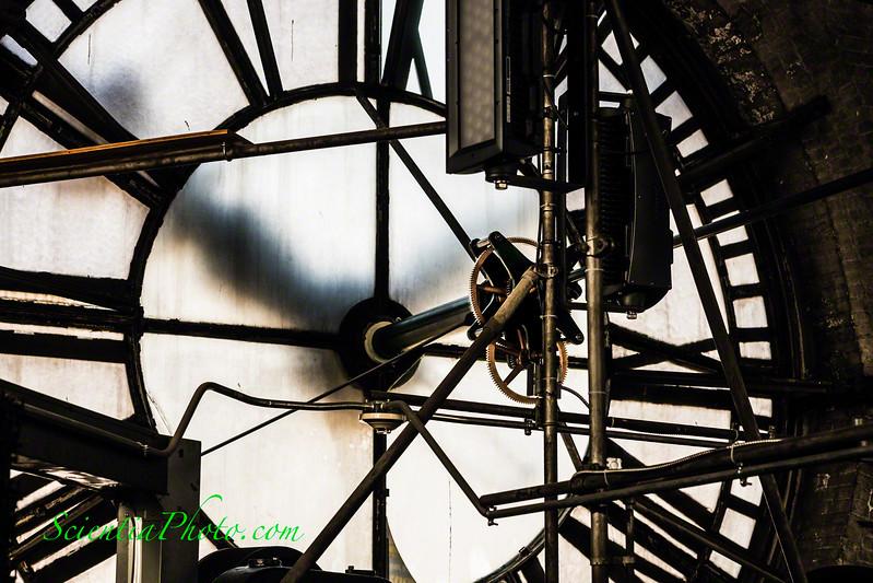 South Facing 24-foot Clock of Baltimore's  Bromo Seltzer Tower