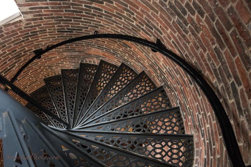 Interior Stairs at the Pemaquid Lighthouse