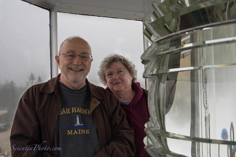 Bob & Nancy & Another Fresnel Lens