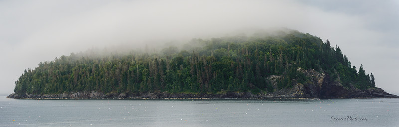 Bald Porcupine Island in Frenchman's Bay