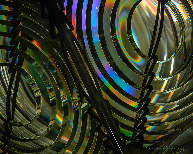 Fresnel Lens at the Chesapeake Bay Maritime Museum