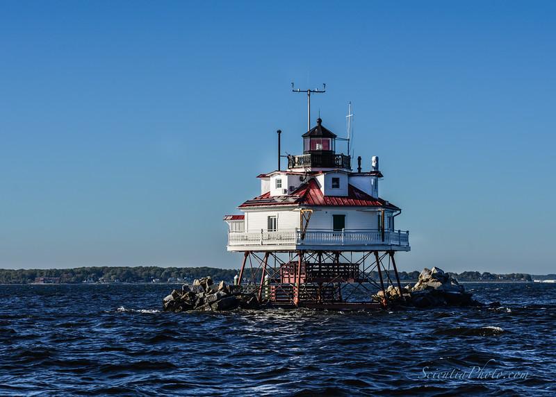 Thomas Point Shoals Lighthouse