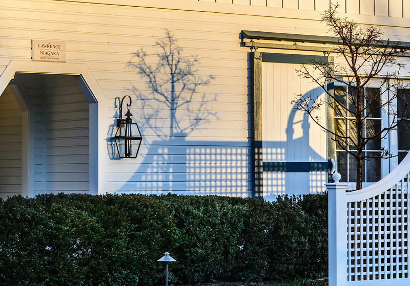 Evening Shadows at The Inn at Perry Cabin