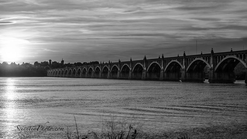 Veterans Memorial Bridge on the Old Lincoln Highway