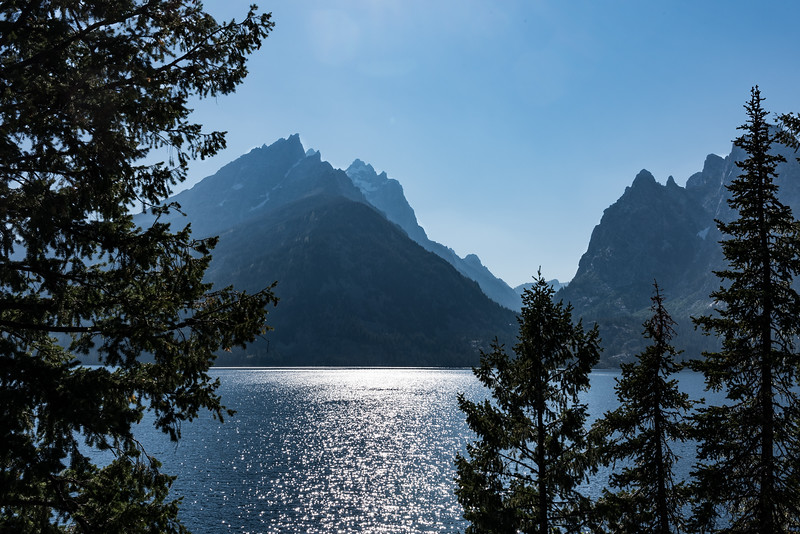17 Jenny Lake in the Grand Tetons