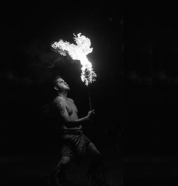 Polynesian Fire Dancer