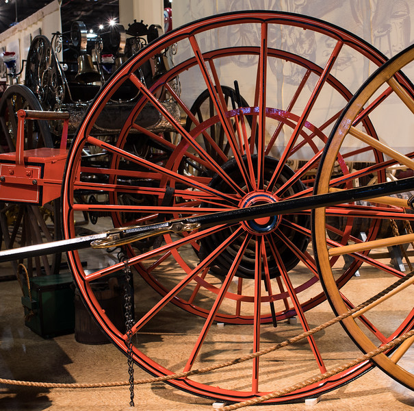 Fire Wagon Wheels