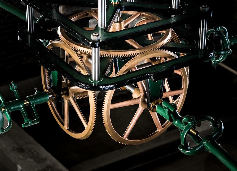 Bromo Tower Clock Gears