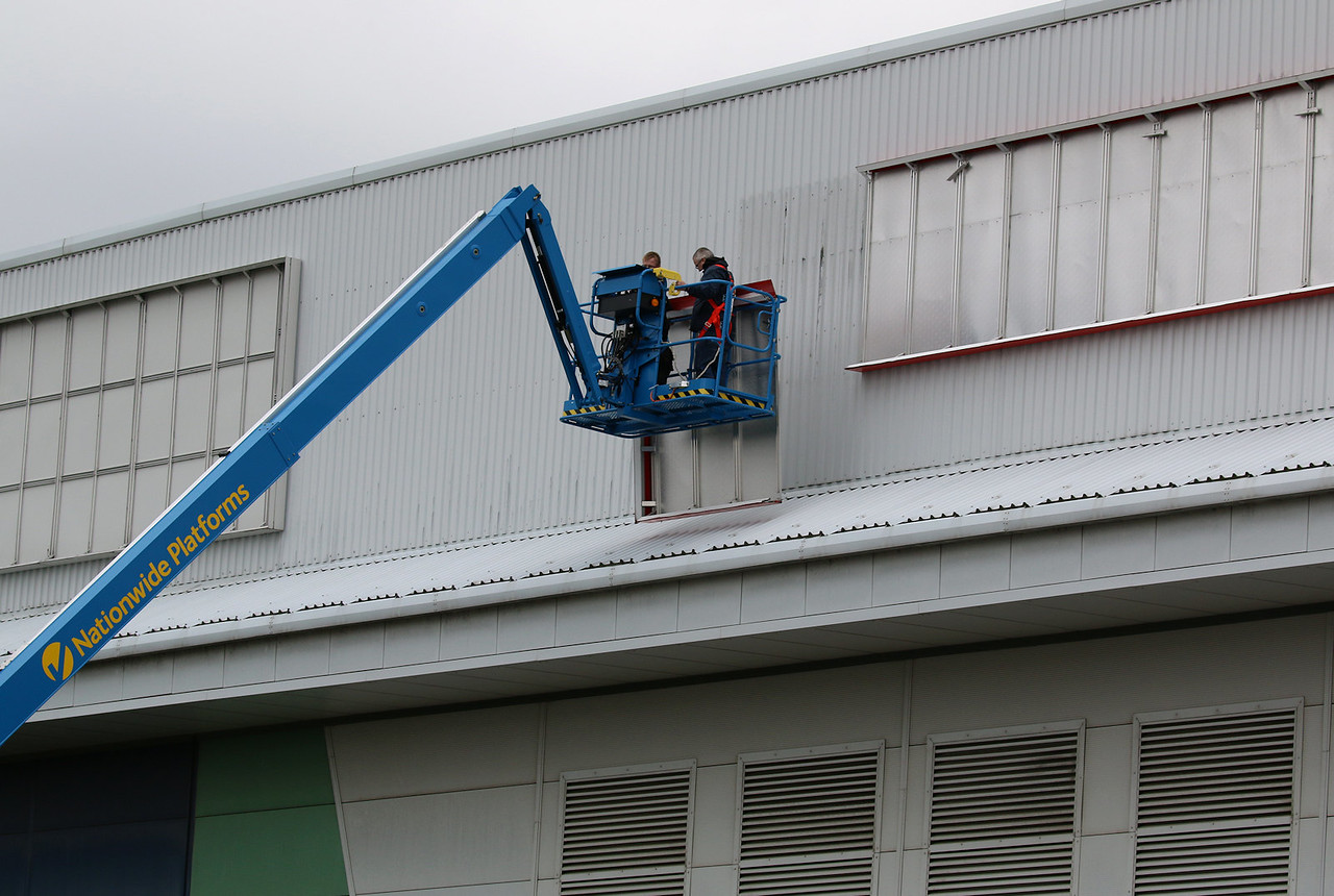 Removal of old signage.........2nd August 2017<br /> By Correne Calow.
