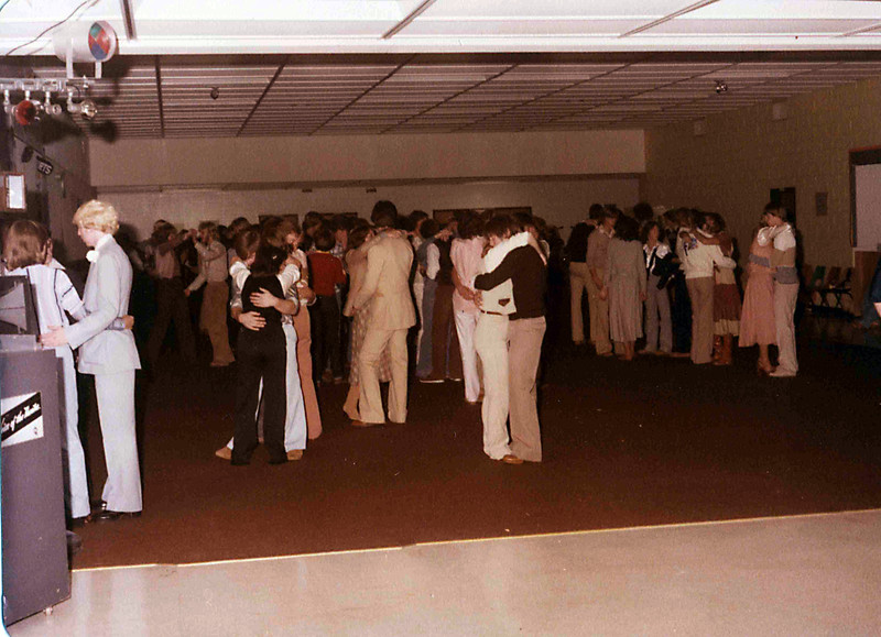 Dance at Northwest High School, late 70s.