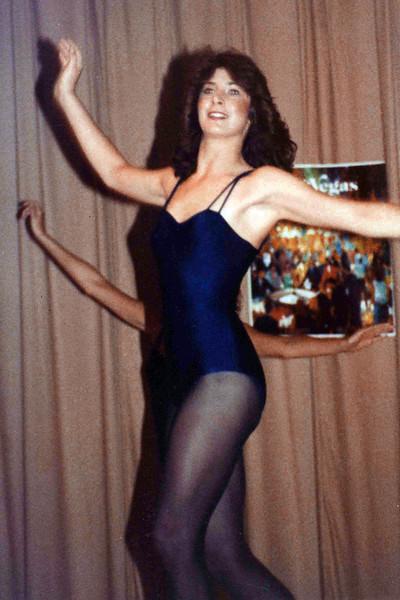 Linda Ray School of Dance recital at Southeast High School. Late 1970s. Missy Brown.