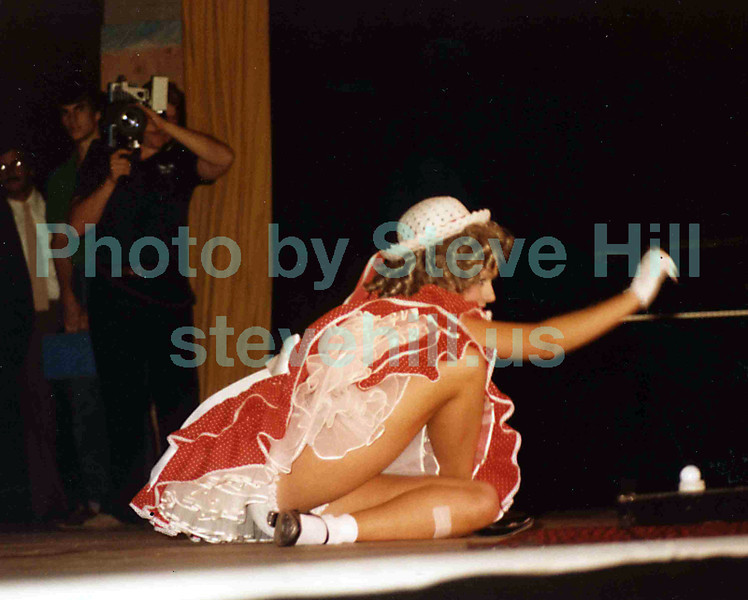 Miss Georgia Pageant in Columbus, 1980. Anita Burnette was Miss Dalton.