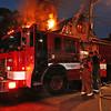 Working Fire on Clark Street. <br /> <br /> Photo by John Hanley