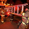 Working Fire - Parkdale Street. <br /> <br /> Photo by John Hanley