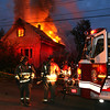 Working Fire on Clark Street. <br /> <br /> Photo by John Hanley