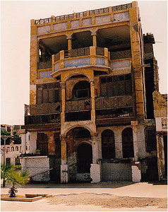 """Beit al Canadiya (The Canadian House), located in Jeddah's old residential neighborhood of Bab Al Yemeni, is considered a local historical landmark: T. E. Lawrence (of """"Lawrence of Arabia"""" fame) stayed here from time-to-time during his service as military liaison during World War I."""