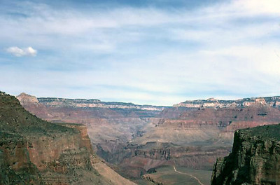The air quality of the Grand Canyon was much better in 1972!  5 March 1972