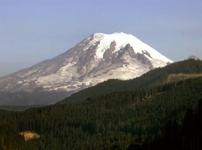 1973: Mount Saint Helens (Washington State) before the 1980 eruption.