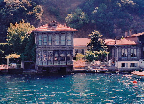 An Ottoman Era waterfront house on the Asian Side of the Bosporus.