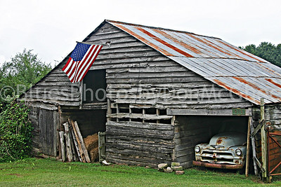 """Americana"" Old Pickup in Georgia Shed"