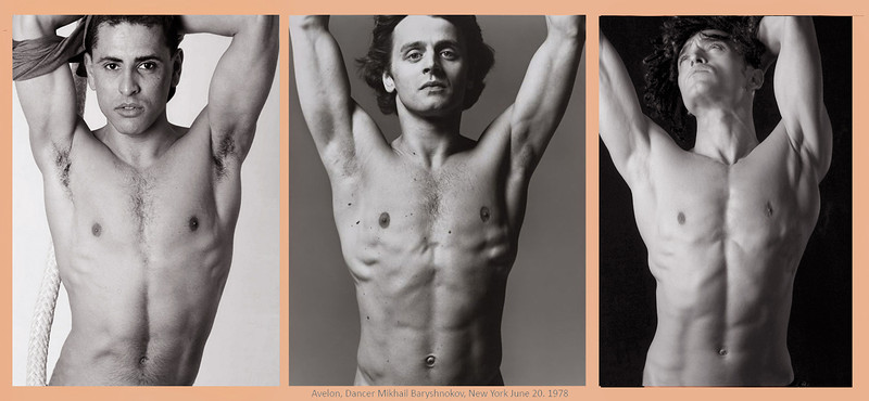 By Richard Avedon, Dancer Mikhail Baryshnokov, New York, June 20, 1978