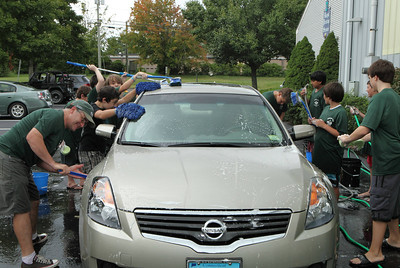 Guilford Scout Troop 472 Car Wash - Sep 2012