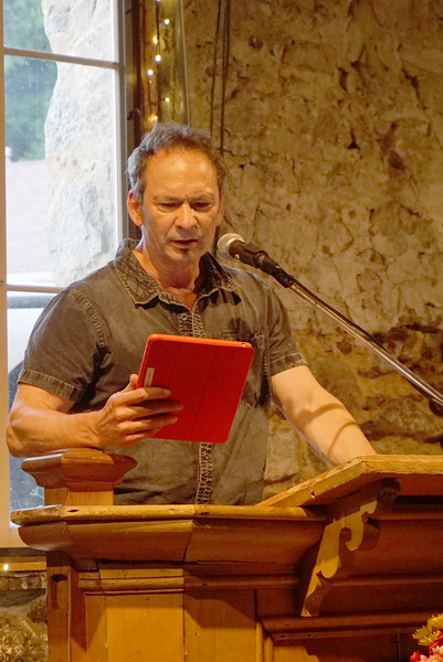 Forrest Gander -  Benefit Poetry Reading