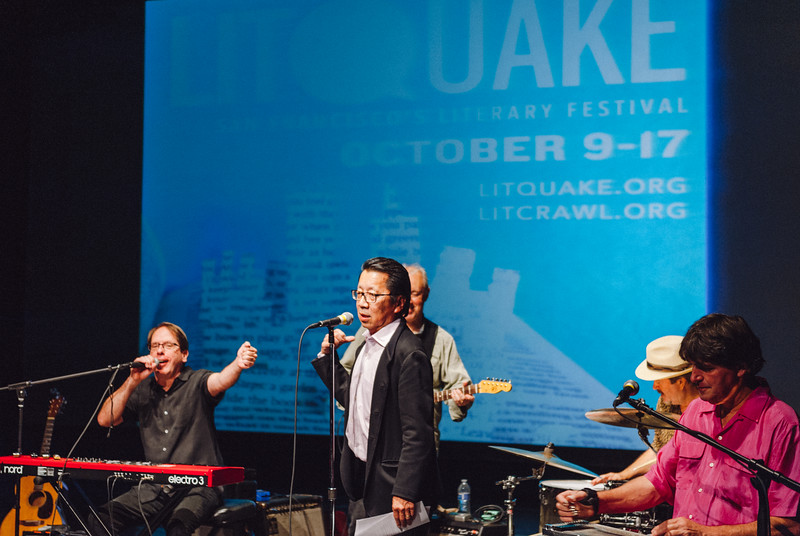 Go Tell It on the Mountain: Litquake's Barbary Coast Award Tribute to the Community of Writers at Squaw Valley - Los Train Wreck (with Ben Fong-Torres)