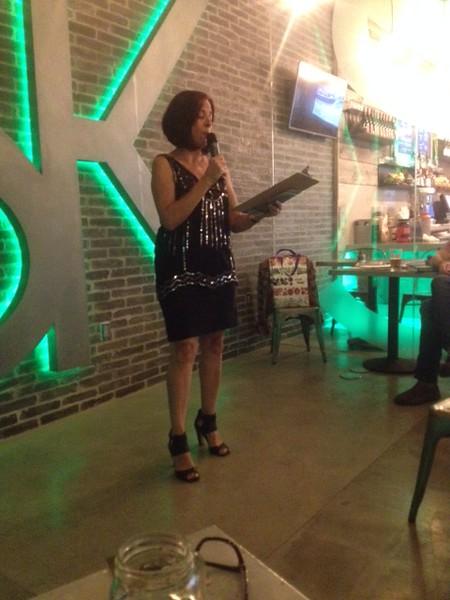 Désirée Zamoraro (CW ALum) Reads at NoHo LitCrawl 2015