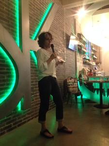 Jody Cohan (CW ALum) Reads at NoHo LitCrawl 2015