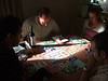 Board games on the Saturday - Puerto Rico<br /> Michael, David, Jana, Gerd (Photo from Phil)