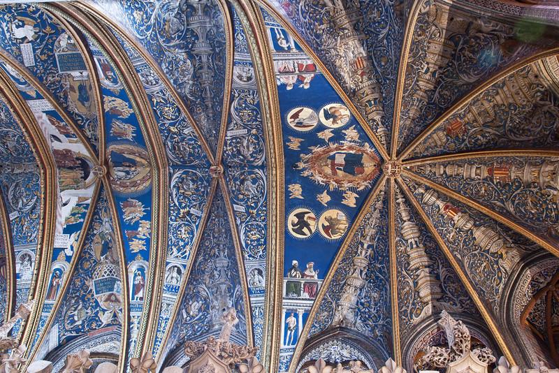Albi Cathedral of Saint Cecilia Choir Vaults