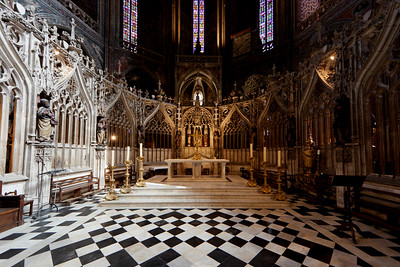 Albi Cathedral - The Choir(16C)