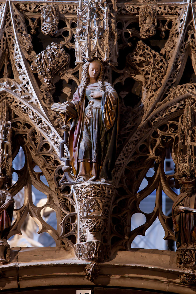Albi Cathedral of Saint Cecilia - The Virgin of the Annunciation