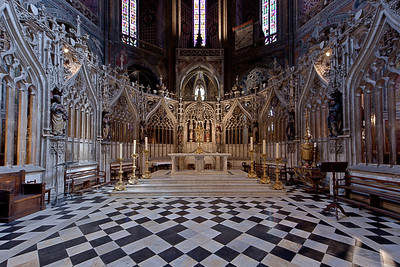 Albi Cathedral of Saint Cecilia High Altar and Choir Screen