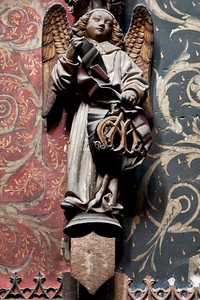 Albi Cathedral of Saint Cecilia Choir Angel (16C)