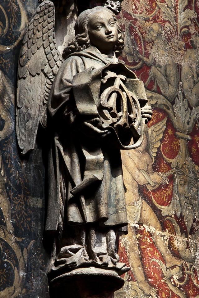 Albi Cathedral of Saint Cecilia Choir Angel (16C)